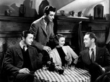 Three Comrades  Robert Young  Robert Taylor  Margaret Sullavan  Franchot Tone  1938