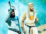 Monty Python And The Holy Grail  Terry Jones  Graham Chapman As King Arthur  1975