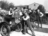 Big Business  Stan Laurel  Oliver Hardy  James Finlayson  1929
