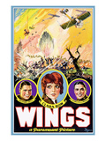 Wings  Richard Arlen  Clara Bow  Charles (Buddy) Rogers  1927