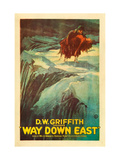 Way Down East  Richard Barthelmess  Lillian Gish  1920