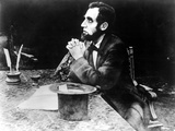 The Birth Of A Nation  Joseph Henabery As President Abraham Lincoln  1915