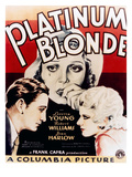 Platinum Blonde  Loretta Young  Robert Williams  Jean Harlow  1931