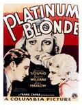 Platinum Blonde  Loretta Young  Robert Williams  Jean Harlow  1931