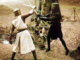 Monty Python And The Holy Grail  Graham Chapman As King Arthur  John Cleese  1975