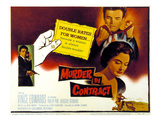 Murder By Contract  Vince Edwards  Caprice Toriel  1958