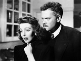 The Stranger  Loretta Young  Orson Welles  1946