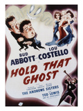 Hold That Ghost  Bud Abbott  Lou Costello  The Andrews Sisters  Ted Lewis  1941