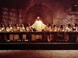 The Greatest Story Ever Told  David McCallum  Max Von Sydow  1965  Last Supper