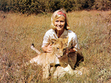 Born Free  Virginia McKenna With Elsa  1966