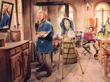 Lust For Life  Kirk Duglas  Anthony Quinn  1956