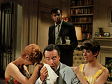 The Odd Couple  Carole Shelley  Jack Lemmon  Walter Matthau  Monica Evans  1968