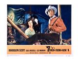 Seven Men From Now  (AKA 7 Men From Now)  Gail Russell  Randolph Scott  1956