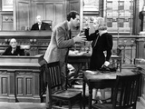 True Confession  Richard Carle  Fred MacMurray  Carole Lombard  1937  Re-Enacting The Crime