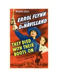 They Died With Their Boots On  Errol Flynn  Olivia De Havilland  1941