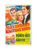 Alexander's Ragtime Band  Don Ameche  Alice Faye  Tyrone Power  1938
