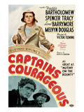 Captains Courageous  Freddie Bartholomew  Spencer Tracy  Lionel Barrymore  1937