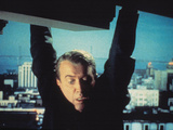 Vertigo  James Stewart  1958  Hanging From The Building