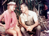 South Pacific  Mitzi Gaynor  Rossano Brazzi On Set  1958