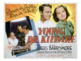 Young Dr Kildare  Lionel Barrymore  Lew Ayres  Lynne Carver  1938