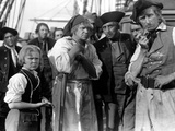 Treasure Island  Jackie Cooper  Wallace Beery  1934  Pirates On Ship