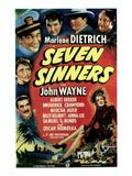 Seven Sinners  1940
