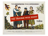 The Trouble With Harry  John Forsythe  Shirley MacLaine  Edmund Gwenn  Mildred Natwick  1955