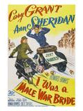 I Was A Male War Bride  Cary Grant  Ann Sheridan  1949