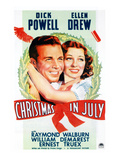 Christmas In July  Dick Powell  Ellen Drew  1940