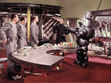 Forbidden Planet  Jack Kelly  Warren Stevens  Leslie Nielsen  Walter Pidgeon  Robby The Robot  1956
