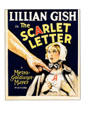 The Scarlet Letter  Lillian Gish On Window Card  1926