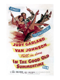 In The Good Old Summertime  Van Johnson  Judy Garland  1949