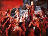 The Ten Commandments  John Derek  Debra Paget  Yvonne De Carlo  Charlton Heston  1956