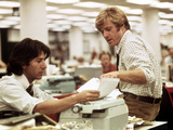 All The President's Men  Dustin Hoffman  Robert Redford  1976