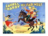 Way Out West  (AKA Laurel Et Hardy Au Far-West)  1937