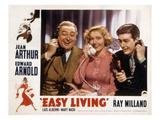 Easy Living  Edward Arnold  Jean Arthur  Ray Milland  1937