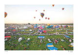 Tilt Shift New Mexico Balloons