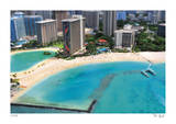 Tilt Shift Waikiki Beach