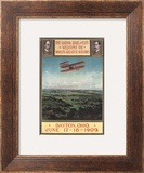 Dayton  Ohio - Wright Brothers Plane  1st Flight Promotional Poster