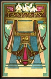 Art Nouveau January  Aquarius