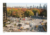 Tilt Shift Columbus Circle