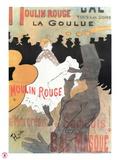 1891 Moulin Rouge La Goulue (1bande) Giclée par Henri De Toulouse-Lautrec