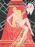 1925 Moulin Rouge programme ça c'est paris Giclée par Edouard Halouze