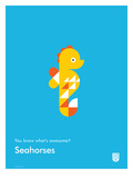 You Know What's Awesome Seahorses (Blue)