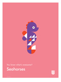 You Know What's Awesome Seahorses (Pink)