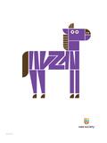 Wee Alphas  Zach the Zebra