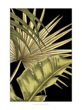 Rustic Tropical Leaves II