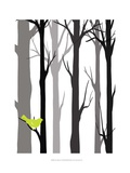 Forest Silhouette I
