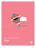 You Know What's Awesome Kites (Pink)
