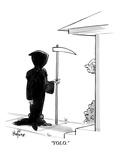 """YOLO"" - New Yorker Cartoon"